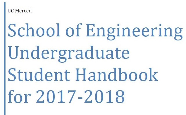 Undergraduate handbook graphic